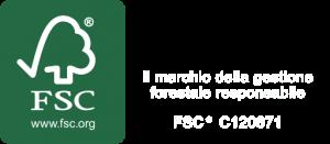 FSC - il marchio della gestione forestale responsabile - FSC* C120671